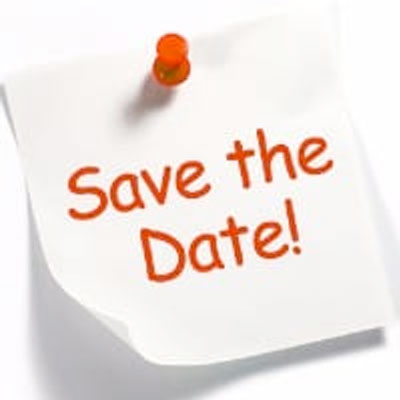 Save the Date post-it