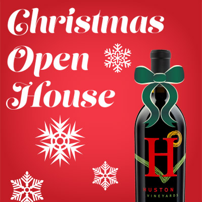Christmas Open House graphic