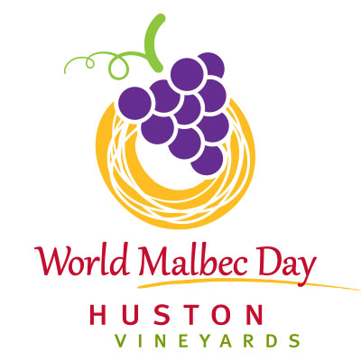 World Malbec Day at Huston Vineyards logo