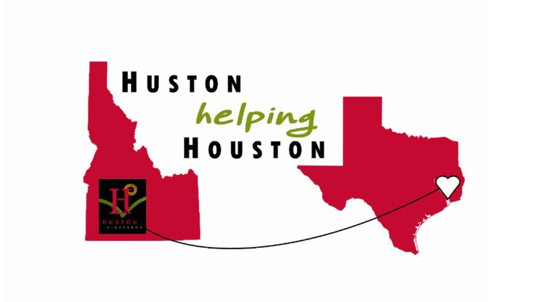 Huston helping Houston