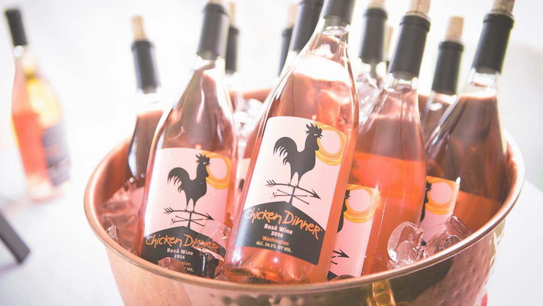 At Huston Vineyards, May is a time to Think Pink